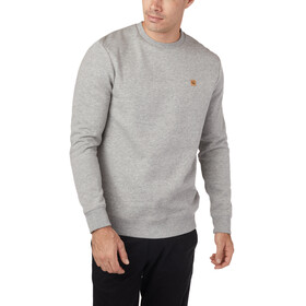 tentree Standard Longsleeve Crew Shirt Heren, hi-rise grey heather